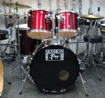 "SESSION PRO 22"" ROCK KIT WINE RED"